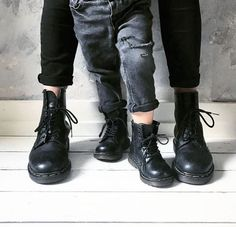 MINI DOC'S: The 1460 boot and the Delaney boot, shared by thehome.and.thekid.