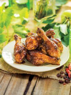 Get Roasted Drumsticks with Chipotle Raisin Glaze Recipe from Food Network Winner Winner Chicken Dinner, Turkey Dishes, Glaze Recipe, Sweet And Spicy, Chipotle, Dinner Recipes, Dinner Ideas, Raisin