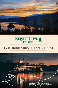 Truly a *must do* on a Lake Tahoe vacation! Enjoy a meal and cocktails as you cruise against a backdrop of astonishing views!