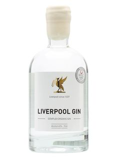 Liverpool Gin is made from grain and botanicals which are organic within the city's boundaries. The botanicals include coriander, angelica and citrus.