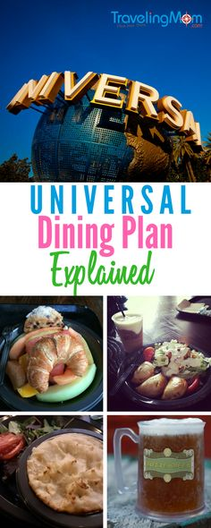 Trying to decide if you need a dining plan on your visit to Universal Studios Orlando? All the details on the Universal Dining Plan explained for you here! Universal Studios Florida, Universal Studios Orlando Fl, Universal Resort, Orlando Travel, Orlando Vacation, Florida Vacation, Cruise Vacation, Orlando Florida, Orlando Resorts