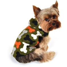 SimplyDog Fleece Dog Jacket, Olive Green, Multi-Colored Bone Print, Multiple Sizes Available (XS) Simply She http://www.amazon.com/dp/B00FM8G004/ref=cm_sw_r_pi_dp_gfNqub0FK93XM