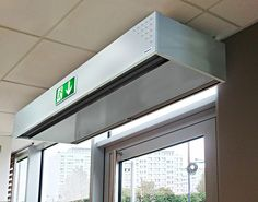 """Applicable to small and medium sized premises, shops, bars, restaurants up to hotels, stores, supermarkets, etc.  The use of air curtains provide many commercial advantages. It´s well known that using an air curtain increases sales due to the """"Open Door Effect"""": It also increases available usable space on entrances and customer/staff comfort: An open door is an invitation for customers to enter. Furthermore, doorway acts as a shop window and allow people to see the inside of the shop   ..."""
