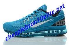 wholesale dealer 62e12 22b67 Peacock Blue Nike Air Max 2013 Mens 554886 410