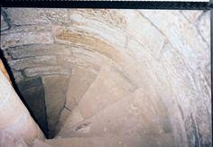 Photo taken by Joyce Sandilands of Canada in 2002 of well-worn stairs inside Torphichen Preceptory, in the Village of Torphichen, West Lothian, Scotland. Featured in our novel, Silent Destiny. www.jrobertwhittle.com