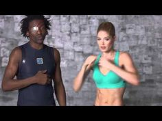 Runway Ready: Victoria's Secret Arms Workout with Doutzen Kroes.  She has the coolest trainer ever - he wears tights, wings on his shoes, dreads, AND and eye-patch!