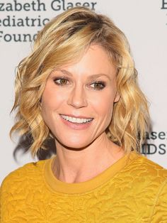 15 Hairstyles You Can Do the Night Before-Julie Bowen  To create bends in even fairly short hair, take small sections and twist them into mini buns all around your head. In the morning, you'll wake up to ringlets, says Anthony Pazos of WETV's LA Hair.