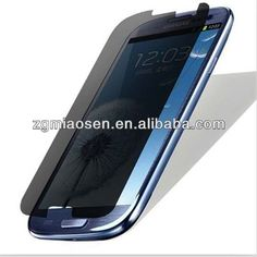 3m privacy screen protector for samsung galaxy s4 factory wholesale  1.Free sample  2. RoHS,SGS verified  3.OEM/ODM