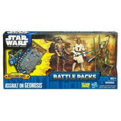 Amazon.com: Star Wars The Clone Wars Battle Packs - Assault On Geonosis Set: Toys & Games
