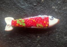 lampwork bead fish by jasmin french