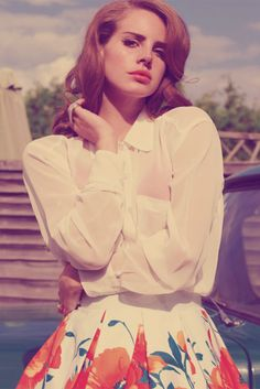 Lana Del Rey: Shes not just a pretty face. I like Lana's dirty-true lyrics and sound of voice.  She comes from those places that she sings about.  I consider her a singer/songwriter with depth.