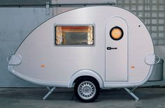 pod trailer - i feel the echo hatchback could def haul one of these cute little pods (: