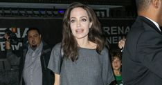 Angelina Jolie Sexes Up the Off-Duty Mom Look