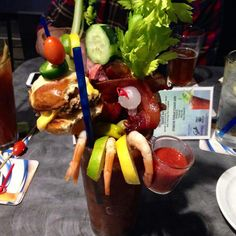 Bloody Mary from the Garage Bar and Grill in Bremerton, Washington