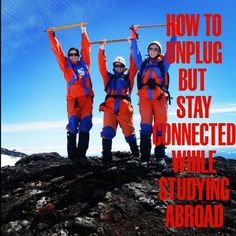 Worried about keeping in touch with everyone back home but don't want to be glued to your computer or phone while you're abroad? Check out ISA's new :60 on Study Abroad: How to Unplug But Stay Connected.