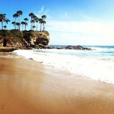 Crescent beach, Laguna CA. So beautiful, its a quite little cove that is so perfect. #travel #nature #beach