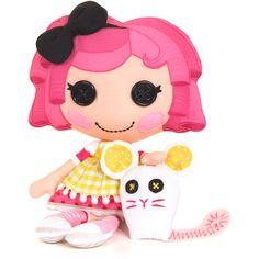 MGA Lalaloopsy Soft Doll, Lalaloopsy Crumbs Sugar Cookie Soft Doll, Lalaloopsy Rag Doll, Soft Plush Doll, Fashion Doll, Soft Toy Doll