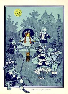 The Wonderful Wizard of Oz by L. Frank Baum with pictures by W. W. Denslow