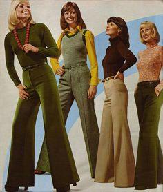 Las mujeres en España empiezan a vestir con pantalones. Años 50-60