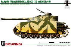 Pz.Kpfw IV Ausf.H mit Schürzen Military Photos, Military Art, Ww2 Panzer, Tiger Tank, Engin, Ww2 Tanks, World Of Tanks, Military Equipment, Armored Vehicles