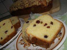 Drożdżówka z rodzynkami i żurawiną French Toast, Pie, Breakfast, Food, Torte, Morning Coffee, Cake, Fruit Cakes, Essen