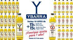 ¡10 LOTES  DE ACEITE DE OLIVA YBARRA PARA UN AÑO!