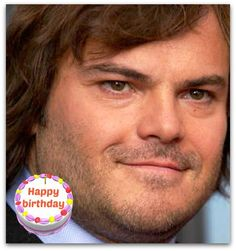 "Happy #birthday Jack Black #Jack Black is Thomas Jacob ""Jack"" Black is an American actor, producer, comedian, voice artist, writer, and musician."