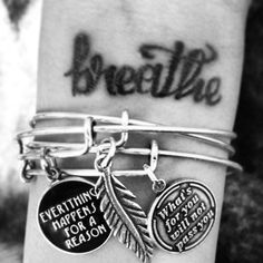 Bracelets are a simple and stylish way to accessorize any type of outfit. They can range from the multiple charms and bangles for the casual look or a sing Jewelry Box, Jewelery, Silver Jewelry, Jewelry Accessories, Alex And Ani Bangles, Alex And Ani Jewelry, Bangle Bracelets, Fashion Jewelry, My Style