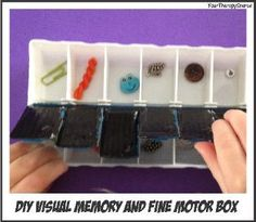 Visual Memory and Fine Motor Activity