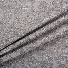 Buy Grey Jacquard Brocade online and from our dedicated fabric shop in London. Joel and Son are specialists in fabrics, trimmings and dress materials. Fabric Shop, Roman Shades, Fabrics, Grey, Design, Decor, Ash, Decoration, Gray