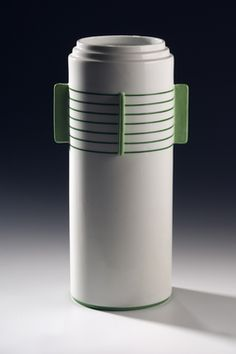Vase by Nora Gulbrandsen for Porsgrund Porselen. Date 1934 - 1935
