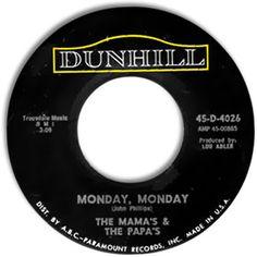 Monday, Monday - The Mama's & The Papa's (1966)