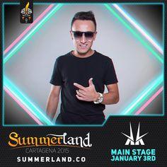 KK Dj Confirmado  Summerland 2015