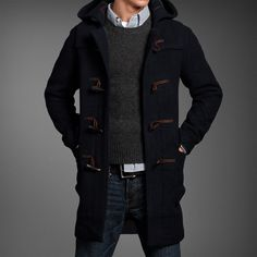 Abercrombie & Fitch Douglass Mountain Toggle #Jacket