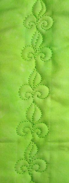 Fleur de lis, Free Motion Quilting Tutorial, fleur de, quilt design, quilting tutorials, machin quilt, free motion, motion quilt, de lis, quilt idea, quilt tutori
