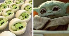 Baby Yoda is sweeping the internet. You've got to try this easy recipe for super cute Baby Yoda Deviled Eggs! Colored Deviled Eggs, Gel Food Coloring, Deviled Eggs Recipe, Green Bean Casserole, Star Wars Party, Snack Recipes, Appetizer Recipes, Keto Recipes, Appetizers