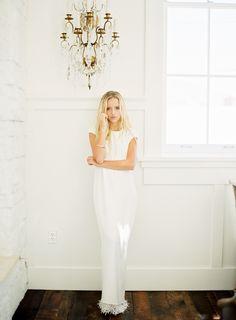 minimal wedding dres