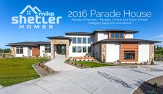 Our 2016 Parade home is located in Rock Creek Rim Estates, Twin Falls, ID. It is a spectacular spacious modern design featuring over 8,000 square feet, 2 full size kitchens, 20 foot ceilings, an impressive 1/2 basketball court inside the oversized garage, indoor/outdoor kitchen, splash pad and fire features, stunning views and a master suite like you have never seen before. © Jason Lugo