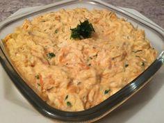 Receita de Patê de frango com creme de leite e cenoura