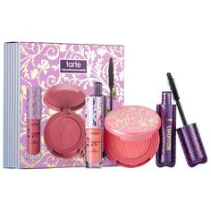 Tarte Magical Moments Deluxe Best Sellers Essentials Set (0.05 oz LipSurgence™ lip gloss, 0.15 oz Amazonian Clay 12-Hour blush in Magic, 0.13 oz Lights, Camera, Lashes™ 4-in-1 mascara)   - $10 US / C$12 #BlackFriday #Sephora