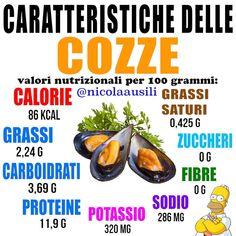 Sono tra i molluschi preferiti dagli italiani, ingredienti di mare più amati in Thai Chi, Real Food Recipes, Health Tips, Stress, Alternative, Blog, Life, Chromotherapy, Medicine