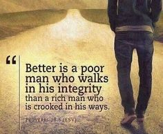 A quote about honesty and integrity