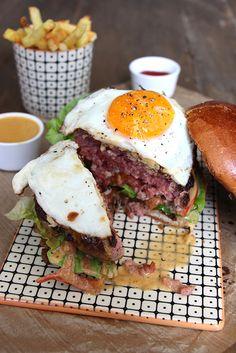 English burger