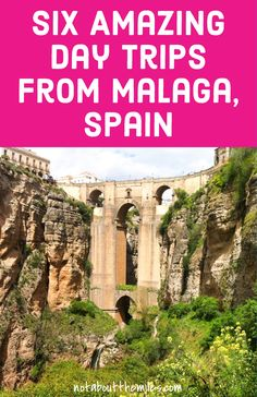 Read my post to discover six amazing day trips you can do from Malaga in Andalusia, Spain. From sun washed white villages to historic cities and resorts on the Costa del Sol, an amazing variety of destinations is within reach of Malaga! Europe Destinations, Europe Travel Tips, European Travel, Travel Guides, Holiday Destinations, Travel Advice, Italy Travel, Backpacking Europe, Spain Travel Guide