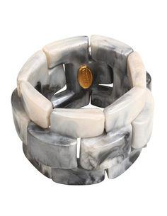 Denaive Gigi bracelet - grey - Feather & Stitch