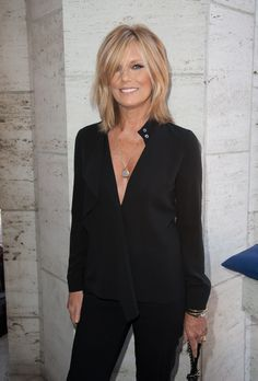 Patti Hansen. Such a great and strong woman!