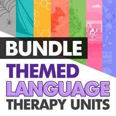 Looking for language therapy ideas? My themed language therapy units include a wide variety of activities and resources for your speech therapy students with language goals using common, motivating themes to help keep you organized!  Buying now will give you all future upgrades for free! Some upcoming themes are spiders, cooking, dinosaurs, and outer space! #speechtherapyactivities #speechtherapylessons #languagetherapy Speech Therapy Activities, Speech And Language, The Unit, Social Media, Goals, Therapy Ideas, Motivation, Spiders, Outer Space