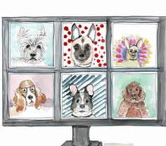 Send a chuckle in an envelope with a cute card. Watercolor hand made cards. Pandemic fatigue cure! Stay positive Uplift your friends Cute Cards, Cure, Envelope, Gallery Wall, Greeting Cards, Watercolor, Create, Friends, Illustration