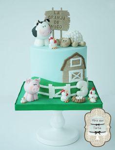 Nico´s Farm - Cake by miraquetarta
