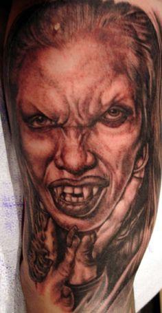 152e3d3cf 29 best Female Vampire Tattoos images in 2017   Vampire tattoo ...